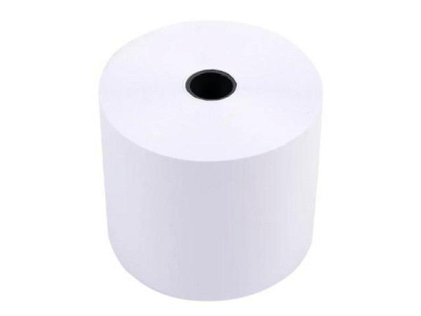 Additionsrolle weiss für Inkjetdruck, Breite 57mm Ø 70mm