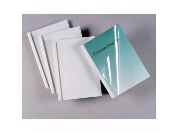 Thermobindemappe GBC 6mm für 70Blatt weisser Karton 220g