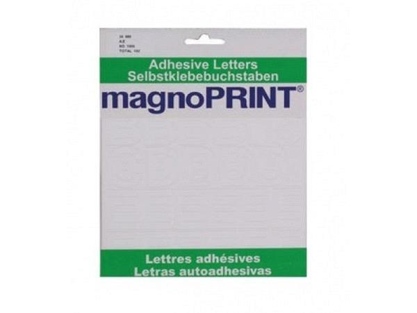 Buchstaben Magnoprint SK 30mm weiss A-Z