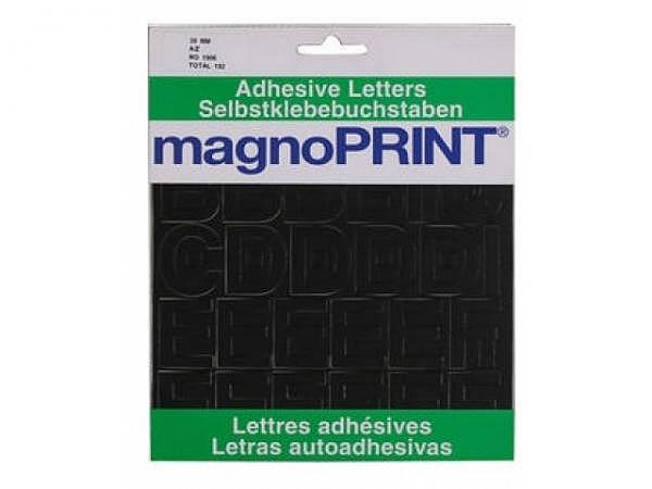 Buchstaben Magnoprint SK 30mm schwarz A-Z
