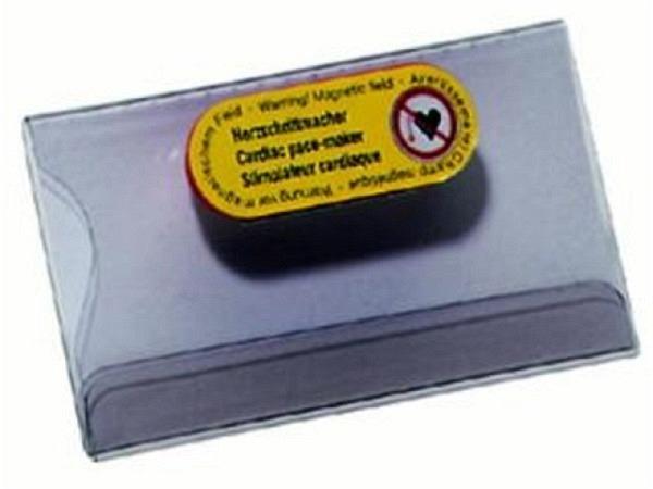 Namensschilder Durable 40x75mm 8116 magnetischer Verschluss, mit Einstecklasche für Hemd- oder Reverstasche, 1Stk.