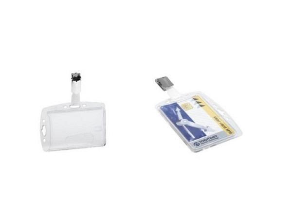 Ausweishalter Durable 54x85mm Ausweishülle mit Clip