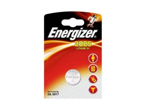 Batterien Energizer Knopf CR2025 3V
