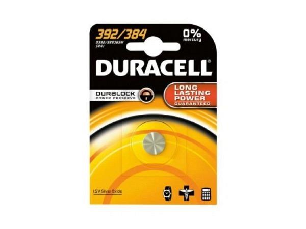 Batterien Duracell LR41 392/384, Watch 1,55V Knopfbatterie