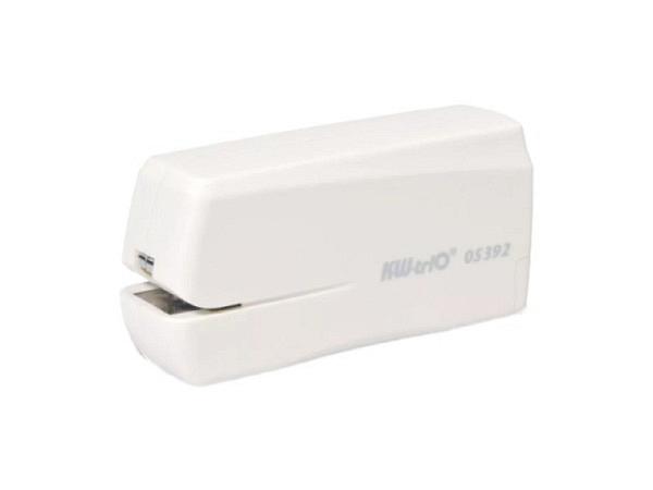 Heftapparat KW-Trio 5392 Elektro grau, funktioniert mit 4xAA Batterien (nicht inbegriffen) oder USB