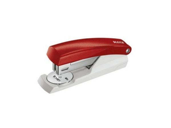 Heftapparat Leitz 5501 2,5-3mm rot Klammern 24/6, 26/6
