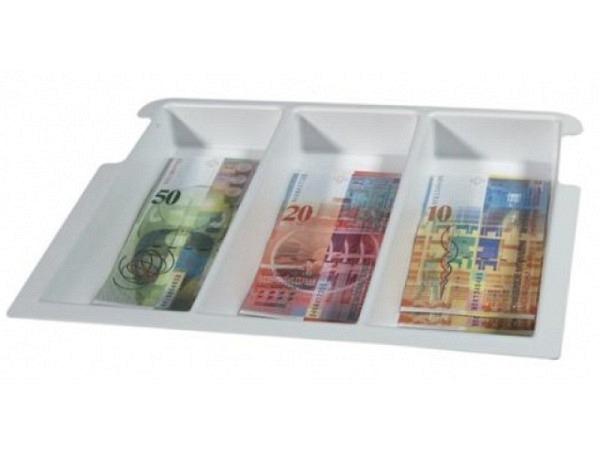 Banknotenfach Argenta zu 7CC  3tlg. Kunststoff