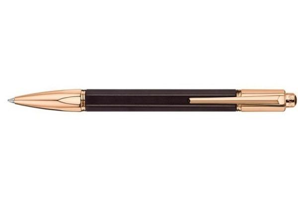 Kugelschreiber Caran dAche Varius Ebony Roségold