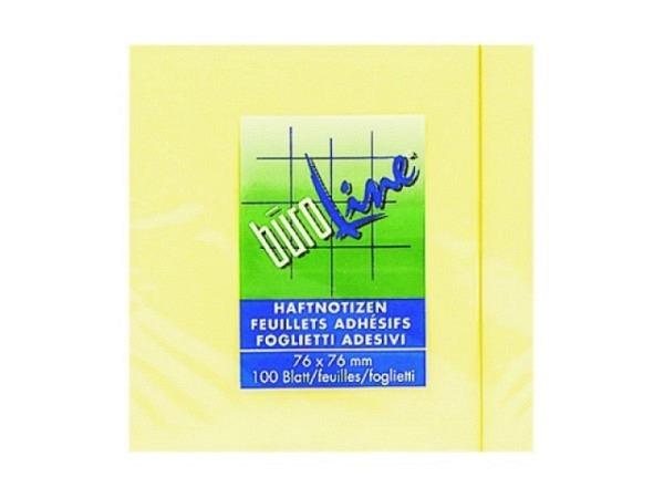 Haftnotizen Büroline 75x100mm Block à 100Blatt