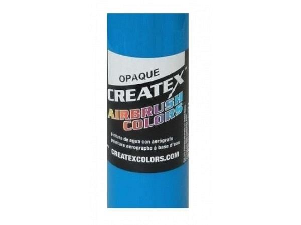 Airbrush Createx blau 5201 60ml schwarzem Untergrund deckend