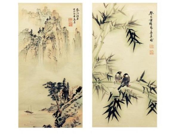 Chinesische Tuschmalerei bei Meng-Chen Yang, Nr. 34
