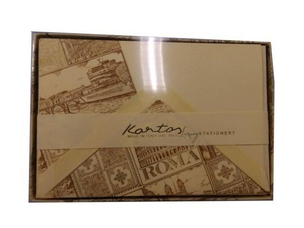 Briefpapier Kartos Portfolio Roma 11,2x16,8cm