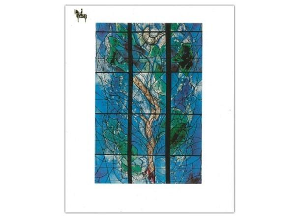 Karte Reiter Chagall Marc Baum des Lebens