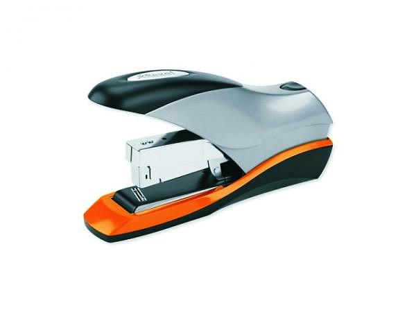 Heftapparat Rexel Optima 70 schwarz-silber-orange 2-70Blatt
