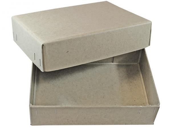 Schachtel Stulp grau A4 T247xB335xH64mm