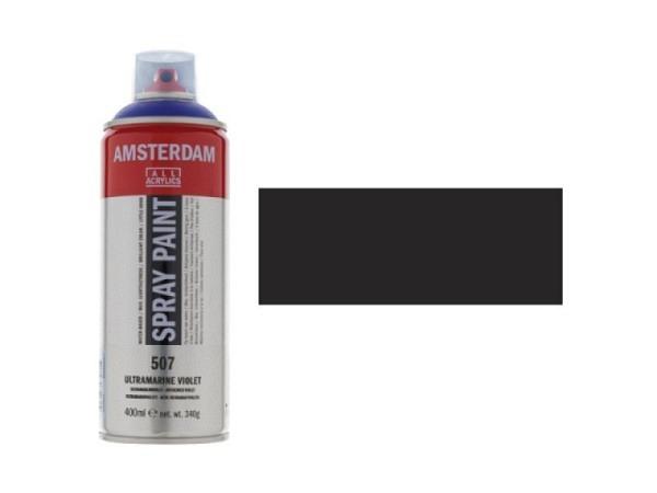 Spray Talens Amsterdam 400ml oxidschwarz 735, deckend